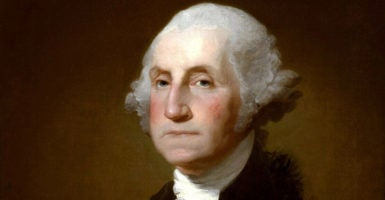 George Washington exhibited a character and virtue that deserved to be honored in every age. (Photo: Pictures From History/Newscom  )