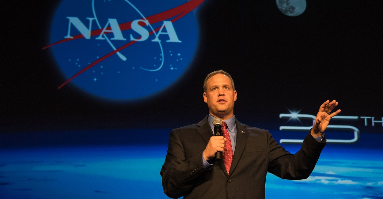 NASA Chief Criticized for Mentioning Christianity in Speech