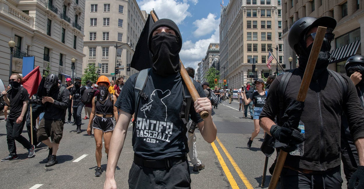 Antifa Is Dangerous and It's Time for the Feds to Step In