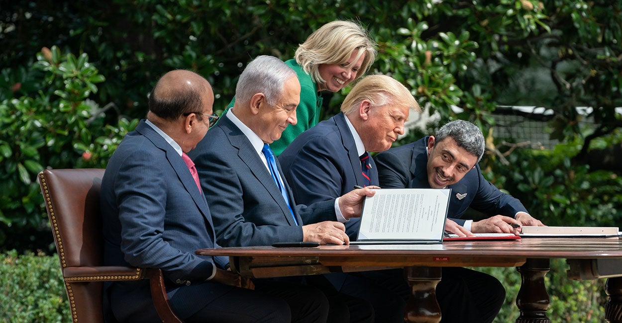 Trump Brokers Middle East Peace and Prosperity