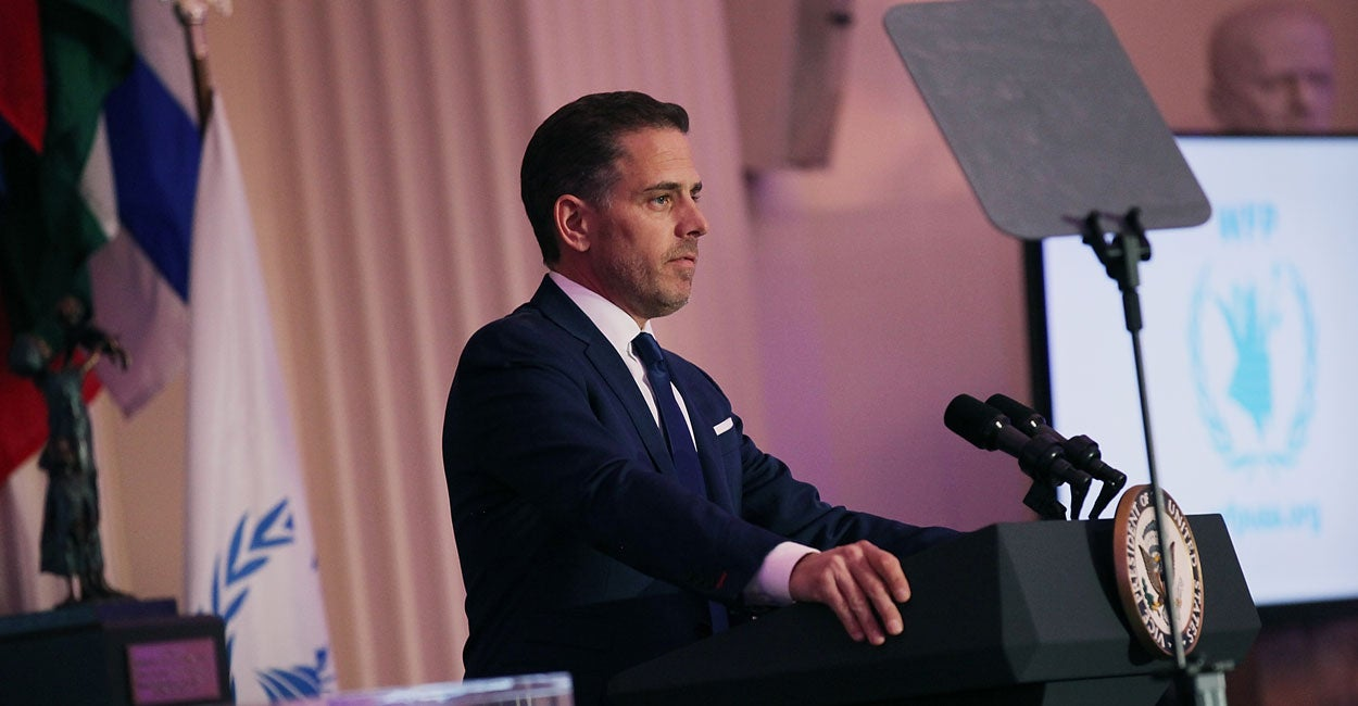 ICYMI: The Hunter Biden Cover-Up Is a Scandal
