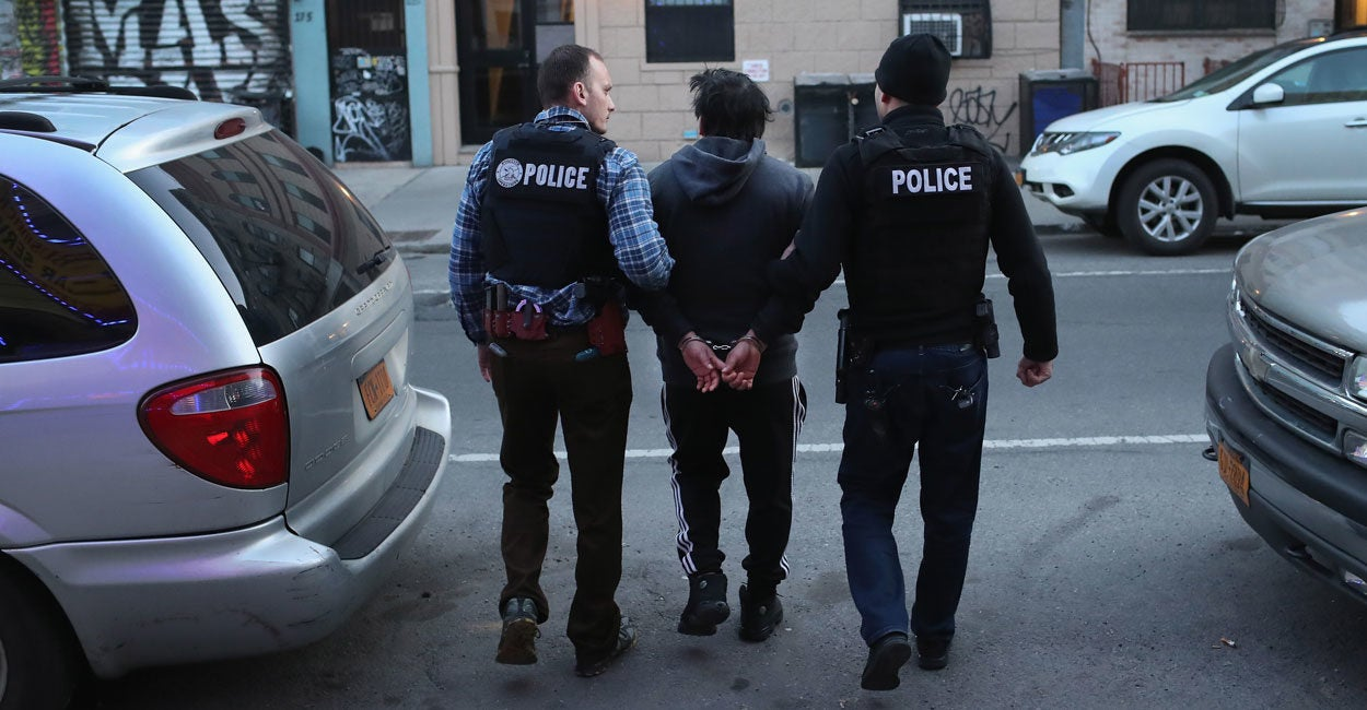 6 of Every 10 Arrested by Feds Aren't Citizens