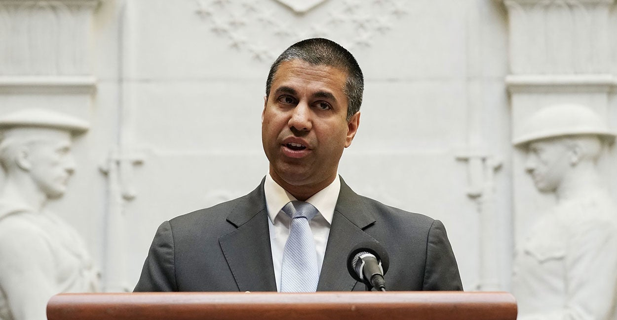 FCC's Ajit Pai Issues Ominous Warning, Says China's Reaction to NBA Fracas Is Only the Tip of the Iceberg