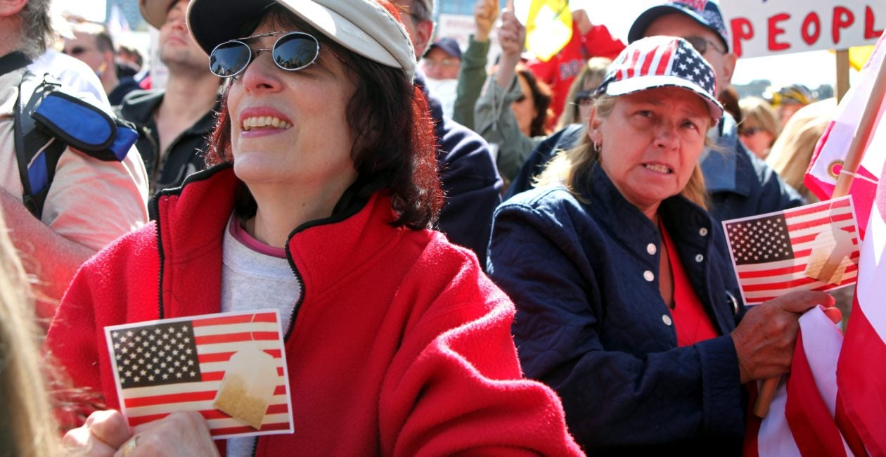 Tea Party Backs 'Stop Socialism, Choose Freedom' Rallies on Tax Day
