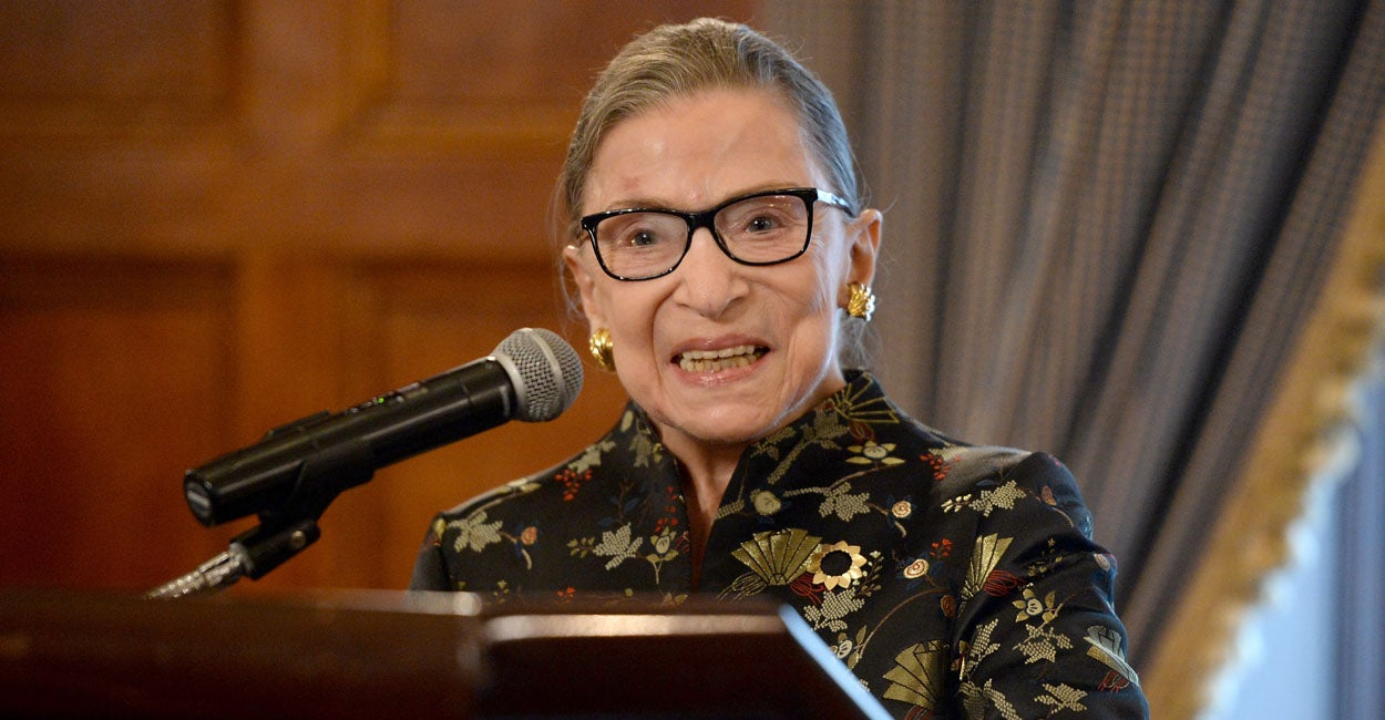 Even RBG Can't Escape Censorship From New Leftists