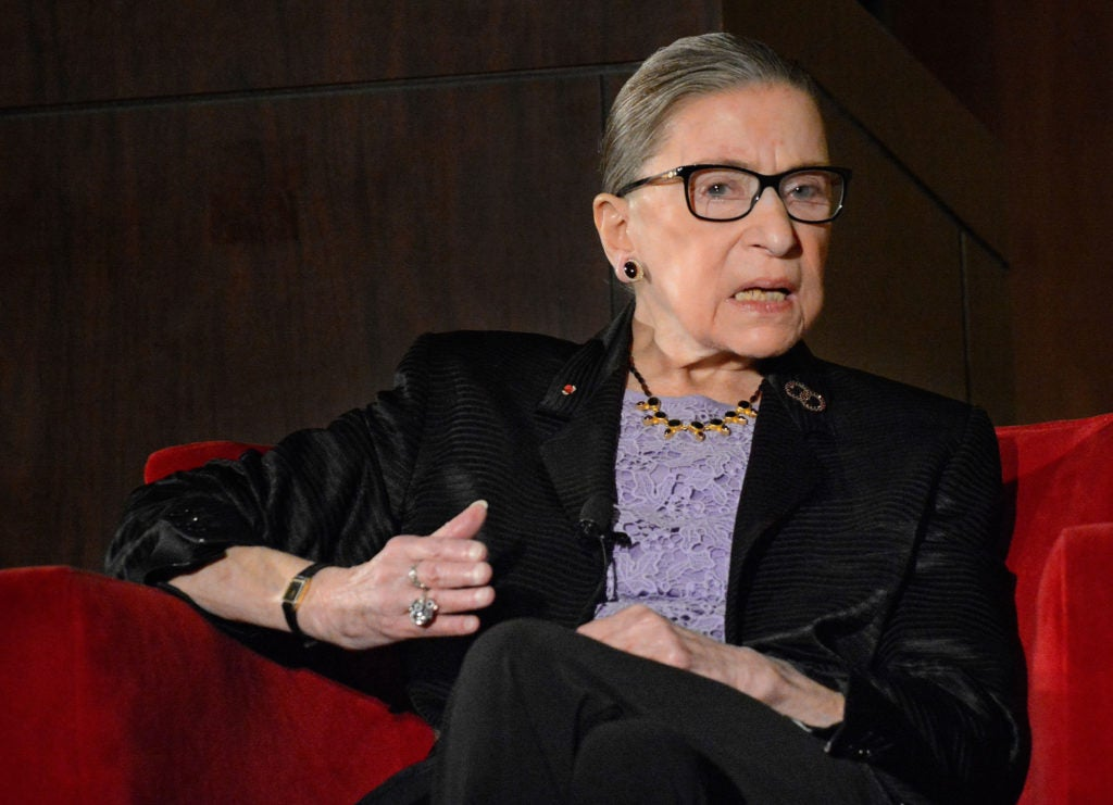 Justice Ruth Bader Ginsburg, a longtime liberal on the Supreme Court bench. (Photo: Jim Thompson/ZUMA Press/Newscom)