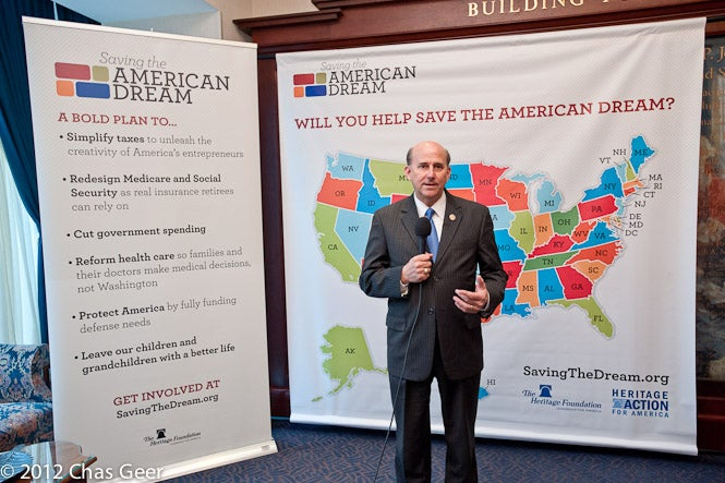Rep. Louie Gohmert voices his support for Saving the American Dream