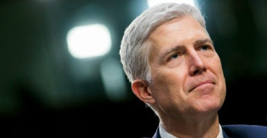 """I ... still expect Judge Gorsuch to be confirmed by 55 to as many as 60 votes,"" says Anthony L. François, a senior attorney at the Pacific Legal Foundation. (Photo: Kris Tripplaar/Sipa USA /Newscom)"