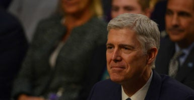 Senate Democrats have successfully delayed Neil Gorsuch's committee vote, meaning that Gorsuch will not have a Senate floor vote until April 5. (Photo: Patsy Lynch/Polaris/Newscom)