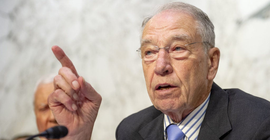 How Lawyers, Grassley Staff Tangled Over Testimony by ...