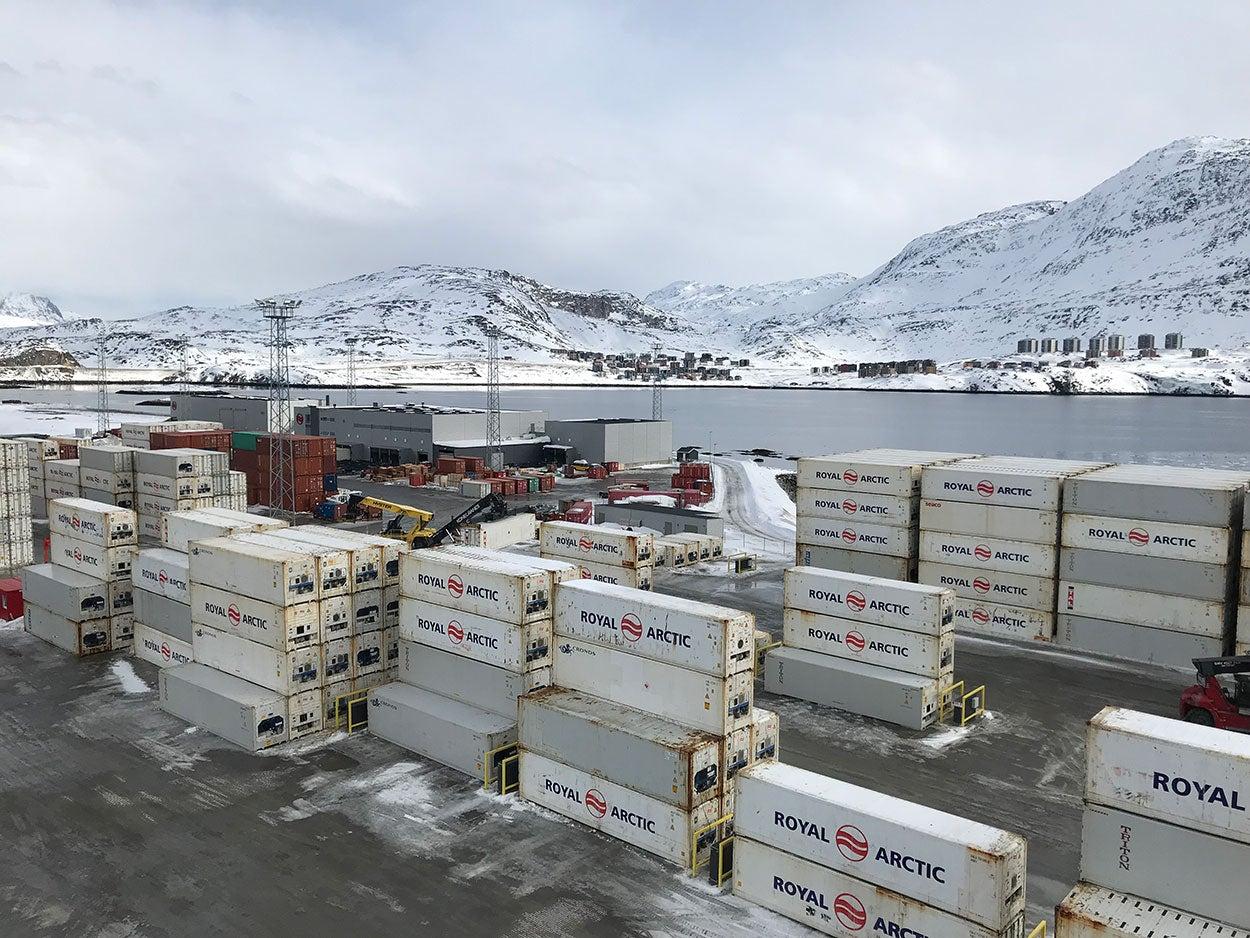 Puerto, Groenlandia, Coffey