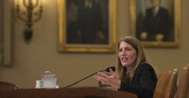 Health and Human Services Secretary Sylvia Mathews Burwell testifies during a House Ways and Means Committee Hearing titled, the Affordable Care Act, on Capitol Hill in Washington, D.C. on June 10, 2015. (Photo: Kevin Dietsch/UPI/Newscom)