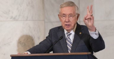 Senate Minority Leader Harry Reid, D-Nev., was a key player in passing President Barack Obama's health overhaul in 2010. (Photo: Kevin Dietsch /UPI/Newscom)