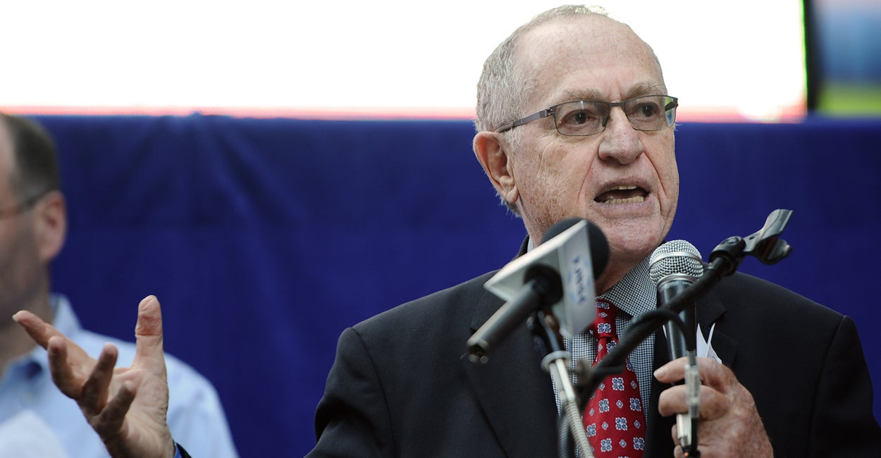 Harvard Law Professor Alan Dershowitz: Comparing Immigrant Detention Centers to Nazi Death Camps Is a 'Form of Holocaust Denial'