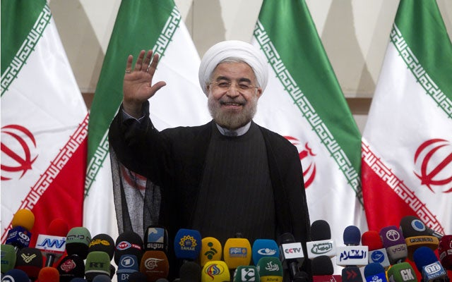 Iranian president Hassan Rouhani. Photo: Newscom