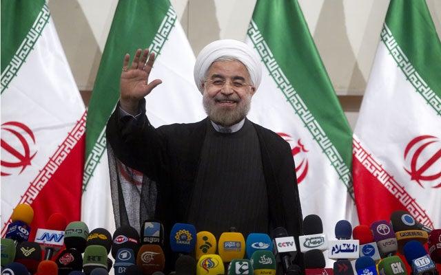 Iran's new-elected President Hassan Rouhani (Maryam Rahmanian/UPI/Newscom)