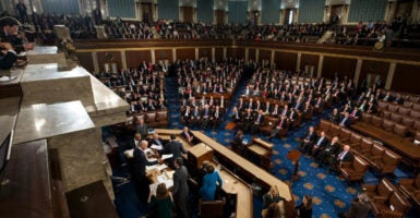 The House of Representatives is scheduled to vote Friday on the American Health Care Act. (Photo: Jim Lo Scalzo/EPA /Newscom)