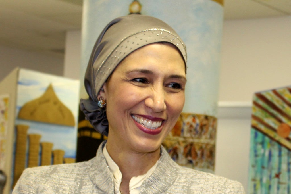 Hedieh Mirahmadi is the author of a countering violent extremism program in Maryland's Montgomery County that is the first of its kind to receive federal funding. (Photo courtesy of Hedieh Mirahmadi)