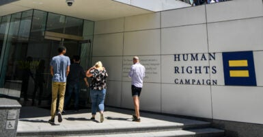 Human Rights Campaign width=