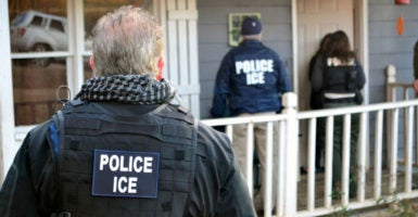 Local police departments refusing to hand over criminal aliens to ICE has resulted in further crime and re-arrests. (Photo: NTB Scanpix /Reuters/Newscom)