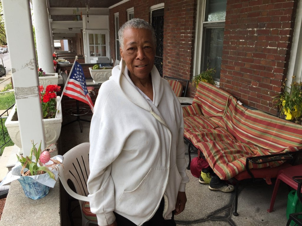 Ada Norris is the neighborhood grandmother to her West Baltimore community (Photo: Josh Siegel/The Daily Signal)