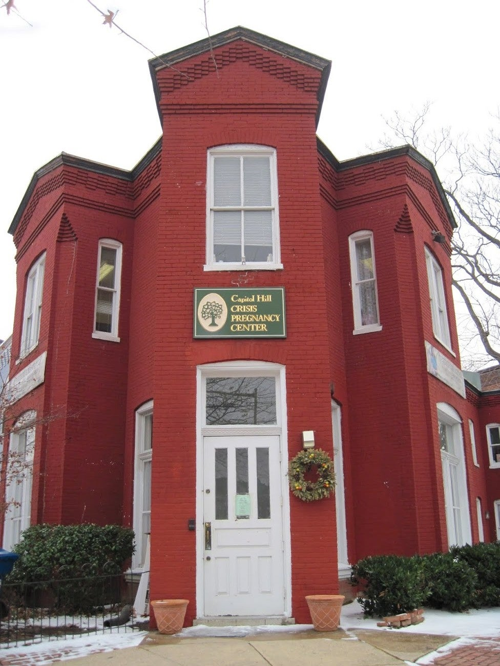 A front view of the Capitol Hill Crisis Pregnancy Center.