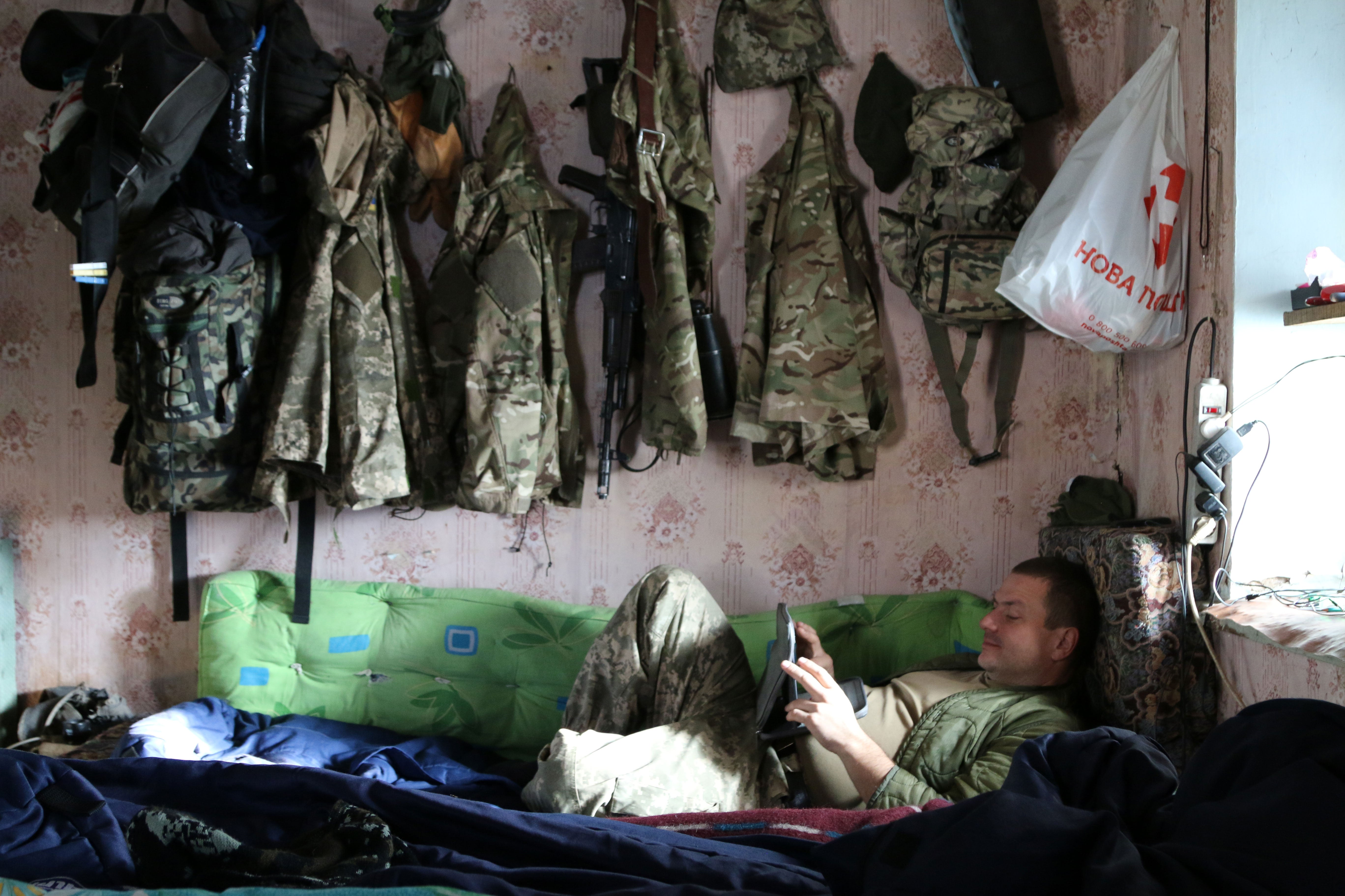 For many Ukrainian soldiers, war has become a way of life.