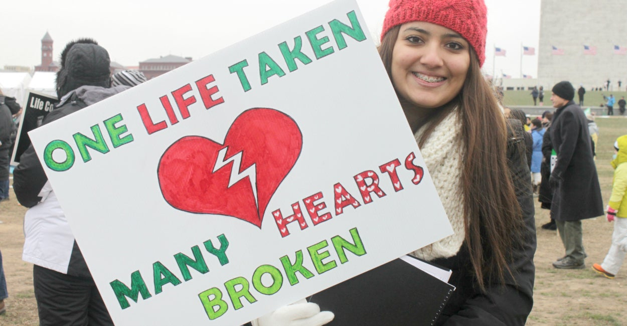 35 Of The Most Interesting Signs At The March For Life