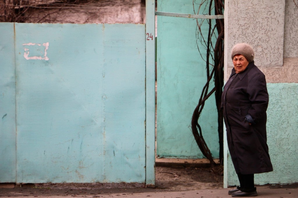 Life in Mariupol has not changed much since the Soviet Union collapsed. (Photo: Nolan Peterson/The Daily Signal)