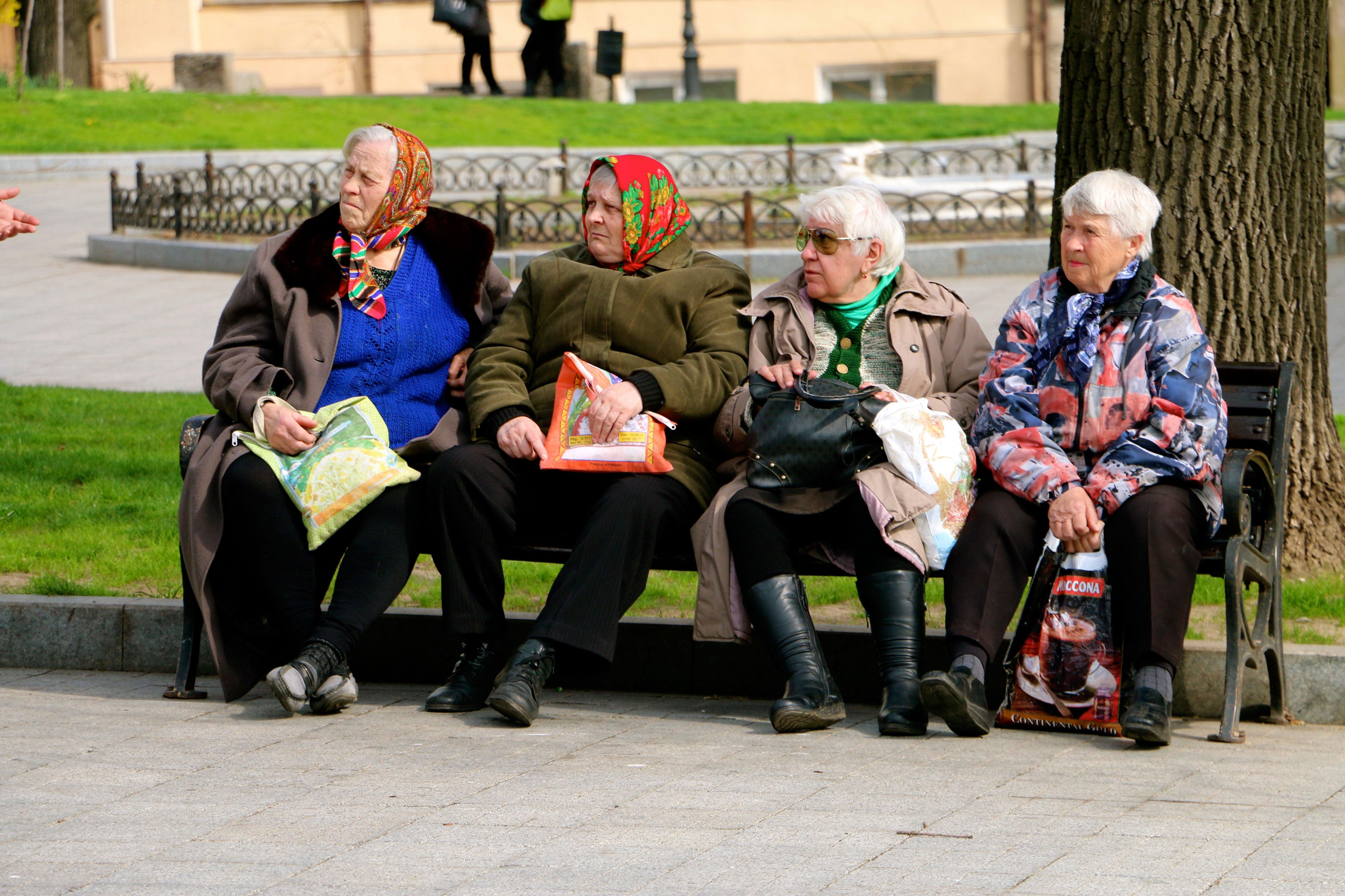 On average, women live 10 years longer than men in Ukraine.