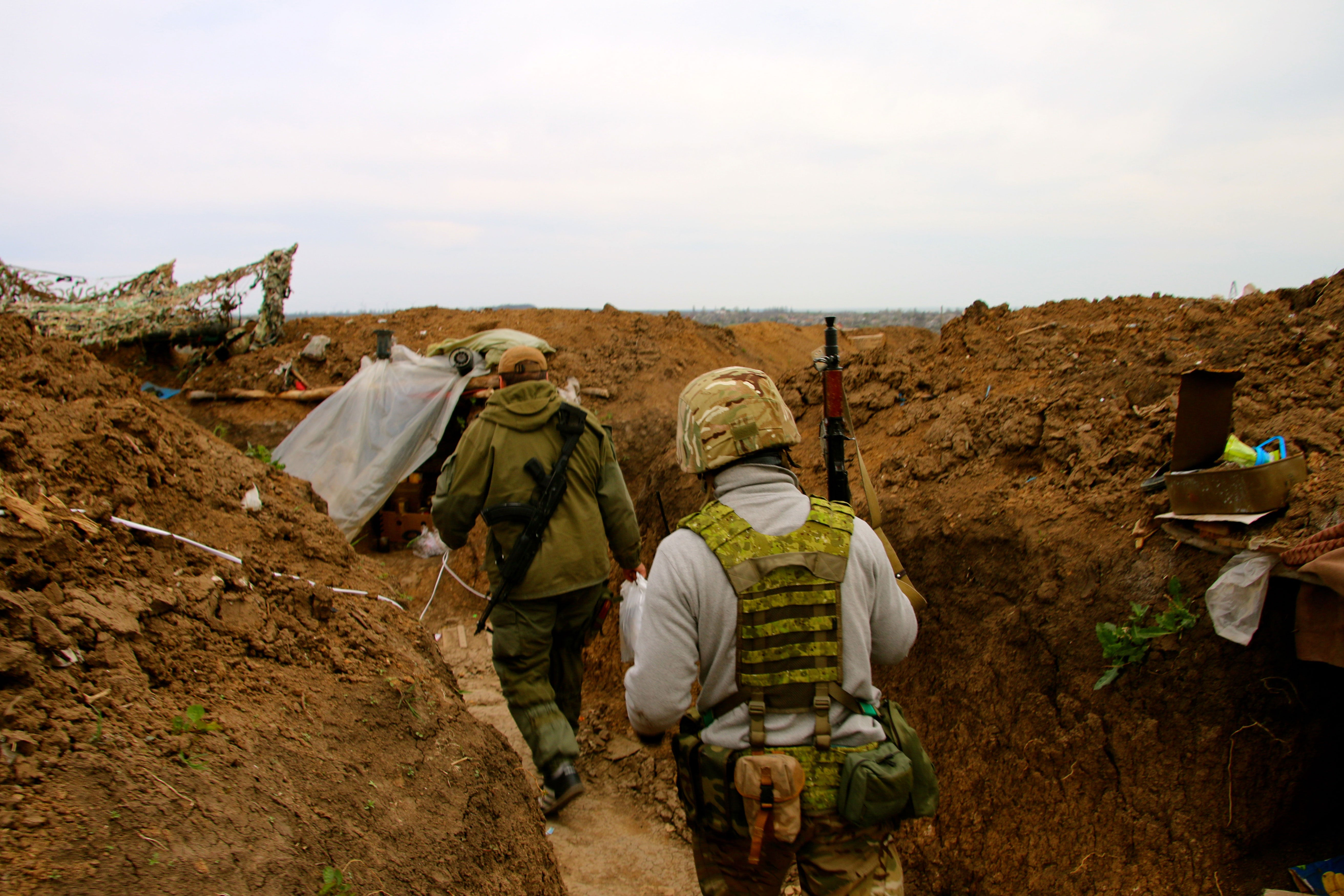 The front lines are only about 10 miles outside of Mariupol.