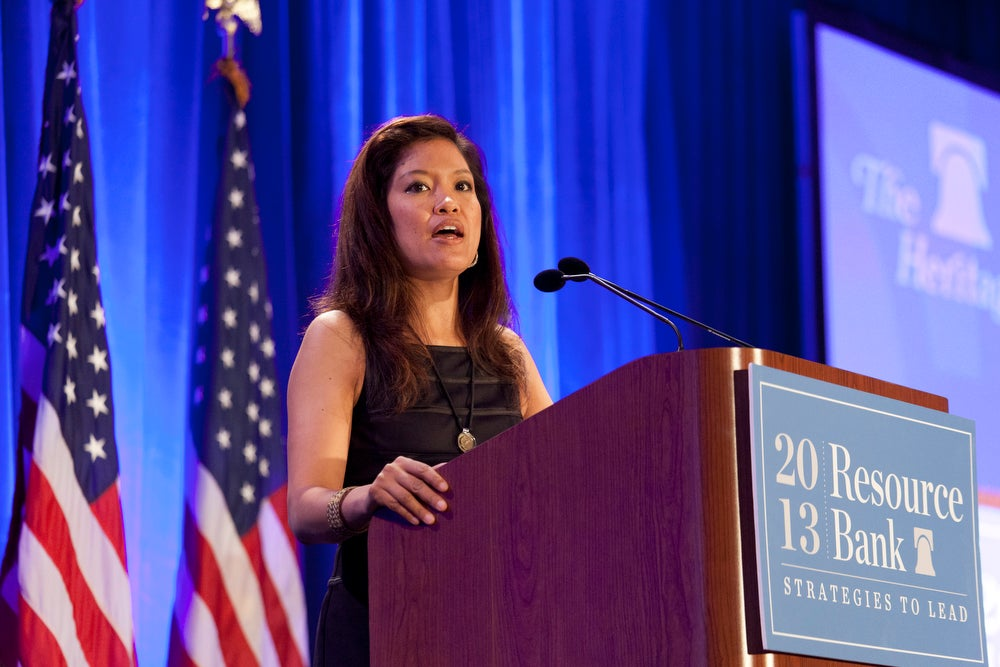 Michelle Malkin at Resource Bank 2013 (Credit: Shealah Craighead)