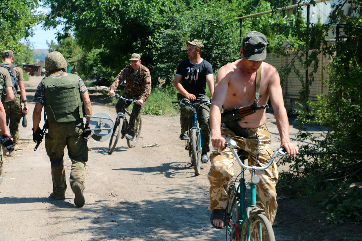 War has become a way of life in eastern Ukraine.