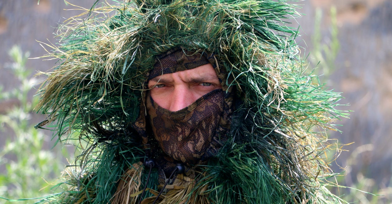 A Ukrainian sniper (Photo: Nolan Peterson/The Daily Signal)