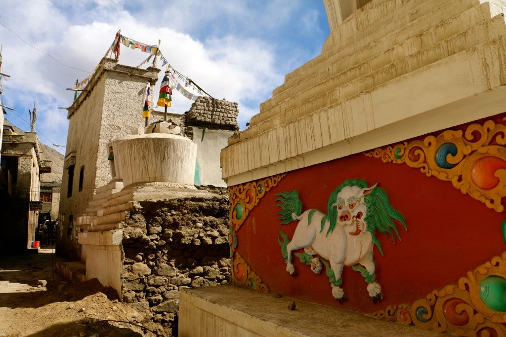 The Ladakhi capital of Leh is home to a large Tibetan refugee population. (Photo: Nolan Peterson/The Daily Signal)