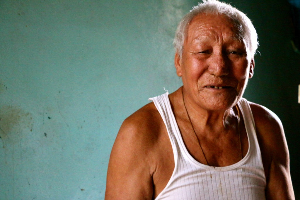 Jampa Choejor fought with the Tibetan resistance until 1974. (Photo: Nolan Peterson/The Daily Signal)