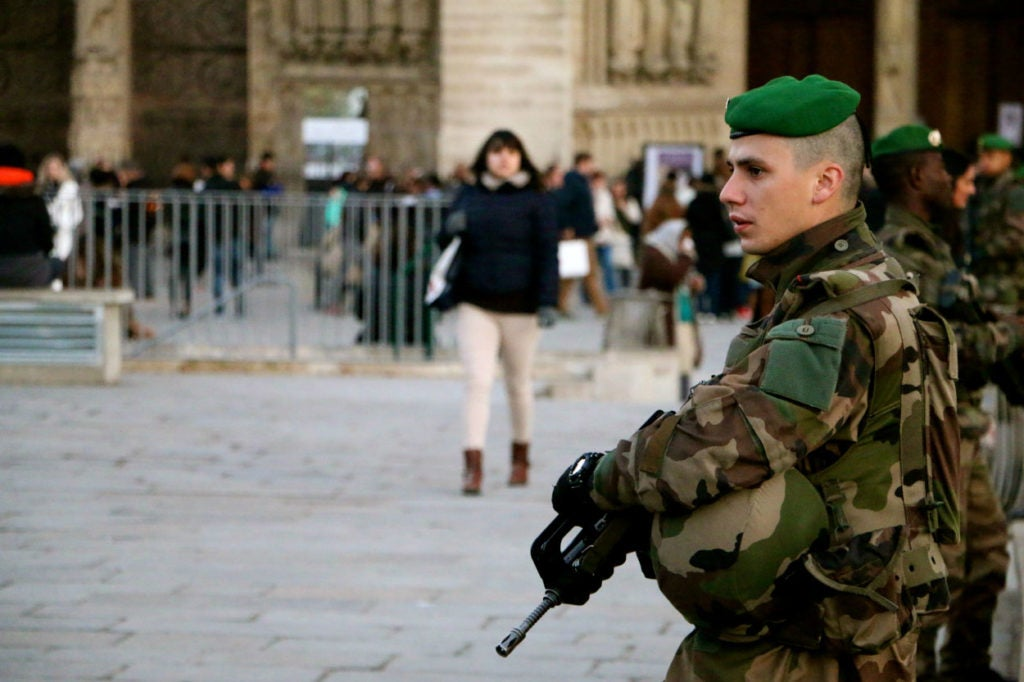 Paris fell under the watchful eyes of security forces months before the attack in the seaside city of Nice. (Photo: Nolan Peterson/The Daily Signal)