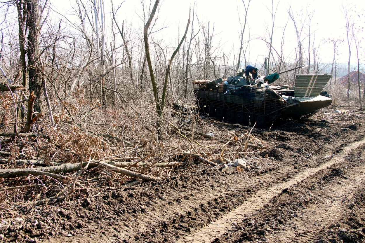 Cease-fire violations occur daily in eastern Ukraine.