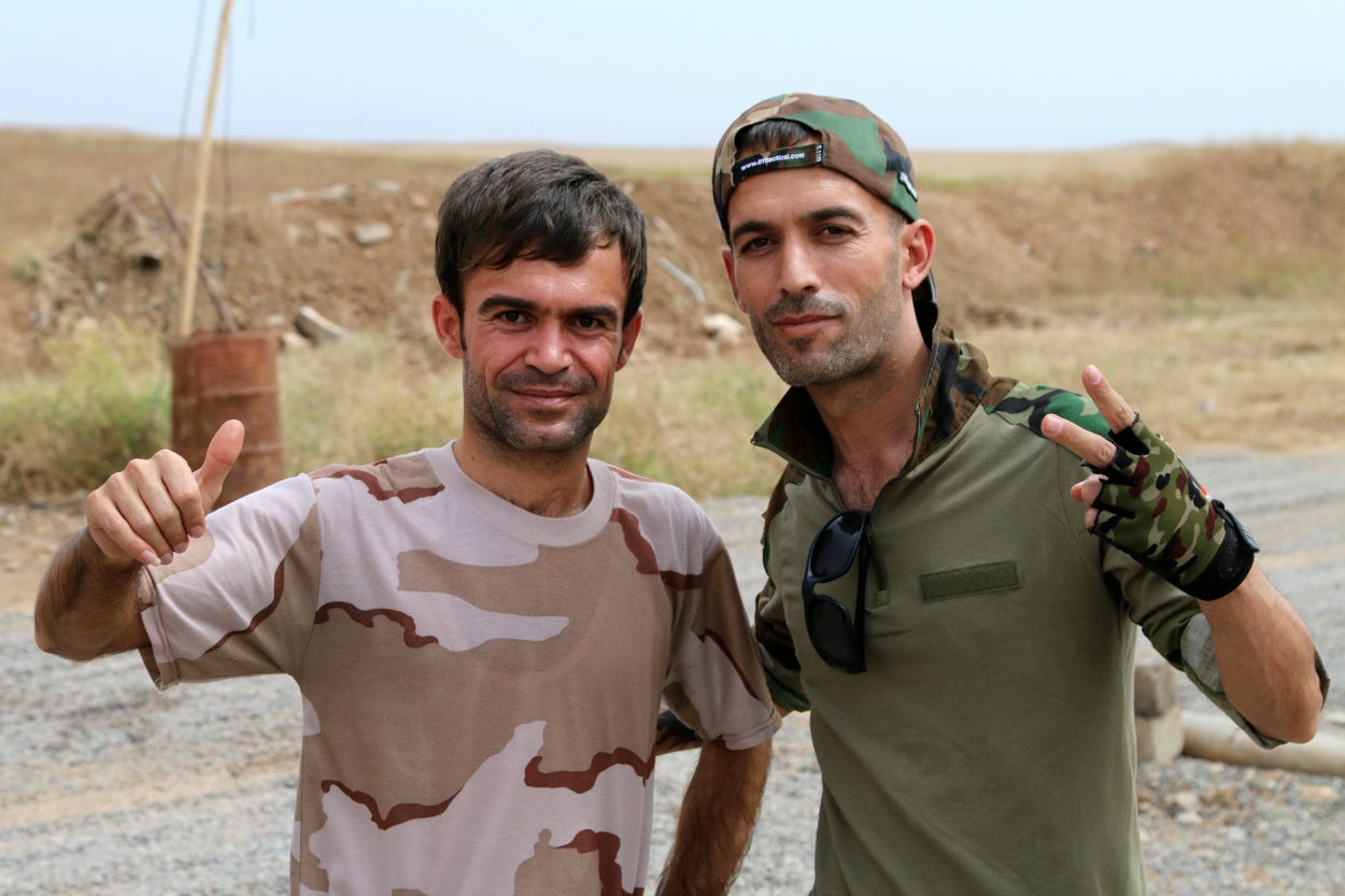 Peshmerga commanders say morale remains high among their soldiers.