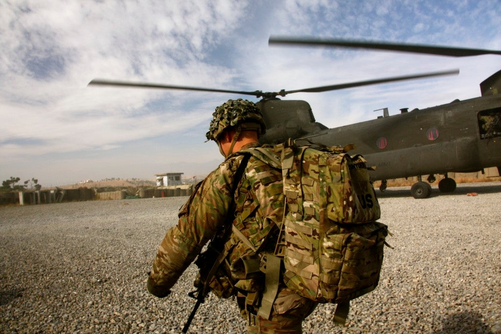 A U.S. Army soldier in Afghanistan. (Photo: Nolan Peterson/The Daily Signal)