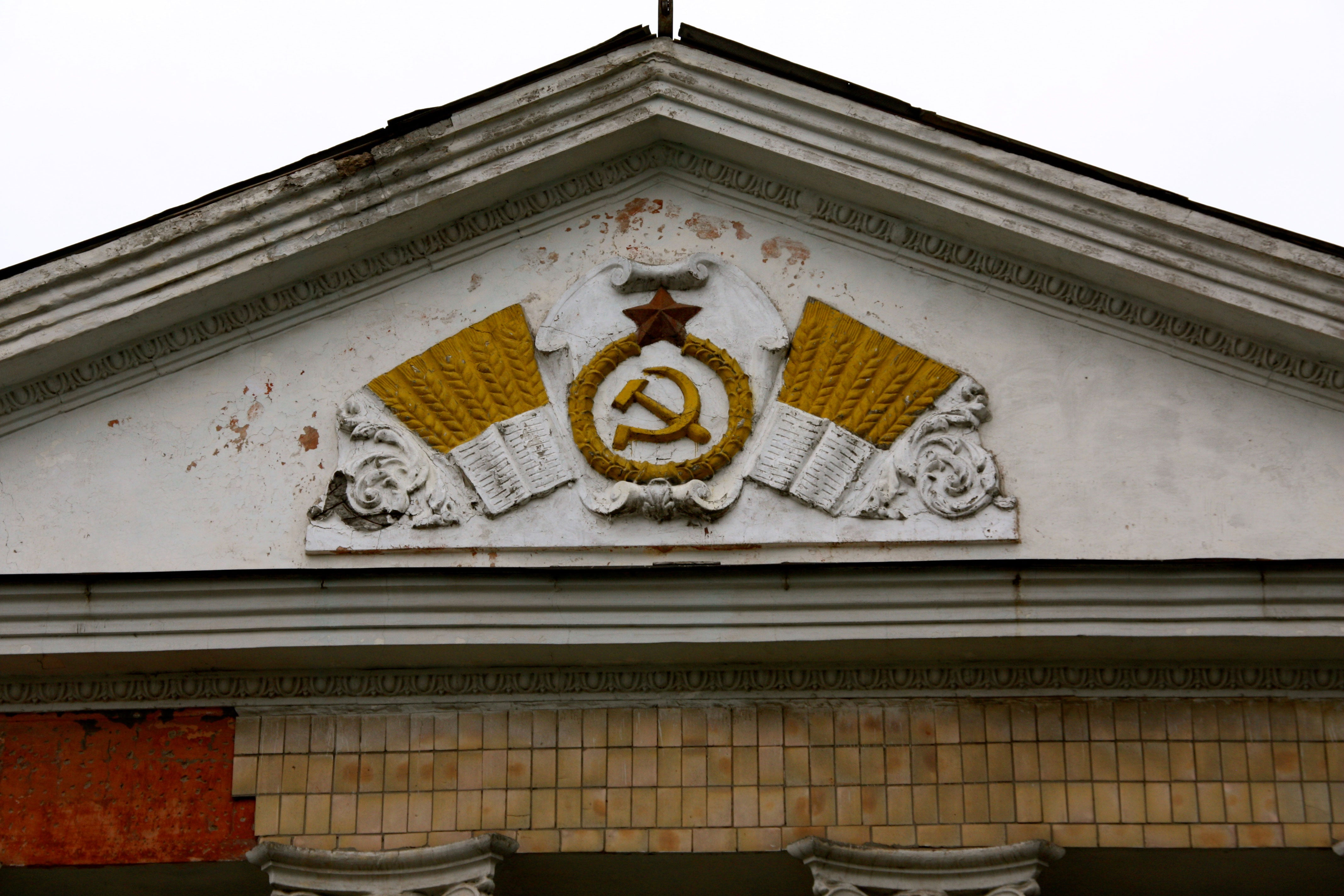 Evidence of Ukraine's Soviet past in the eastern town of Slavyansk. (Photos: Nolan Peterson/The Daily Signal)