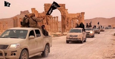Palmyra, Syria: The Islamic State of Iraq and Syria (Photo: News Pictures / Polaris/Newscom)