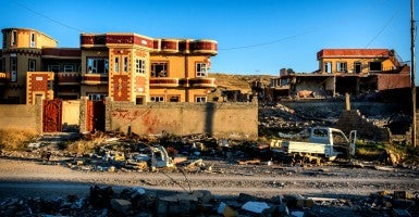 Sinjar, Iraq which was invaded by ISIS in August of 2014. (Photo: Alessandro Rota/Sipa USA/Newscom)