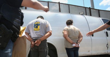 Thousands of illegal immigrants with criminal convictions have been released from custody because they can't be repatriated to their home countries. (Photo: Peggy Peattie/ZUMA Press/Newscom)