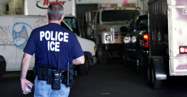 The U.S. Immigrations and Customs Enforcement Agency says it had sole discretion over one-third of the 19,723 criminal releases of illegal immigrants in 2015. (Photo: Ciro Cesar/La Opinion/Newscom)