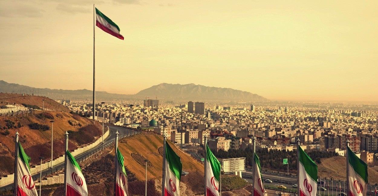 Teherán, paisaje
