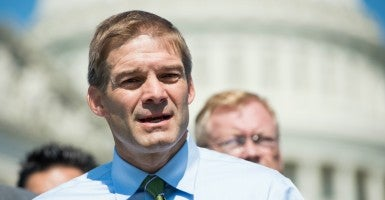 "Rep. Jim Jordan, R-Ohio, worries ""the game is rigged in favor"" of President Obama earning congressional approval on the Iran deal. (Photo: Bill Clark/CQ Roll Call/Newscom)"