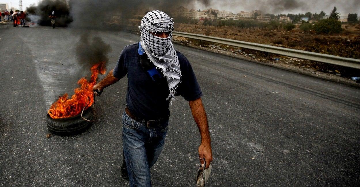 Palestino, guerrillero
