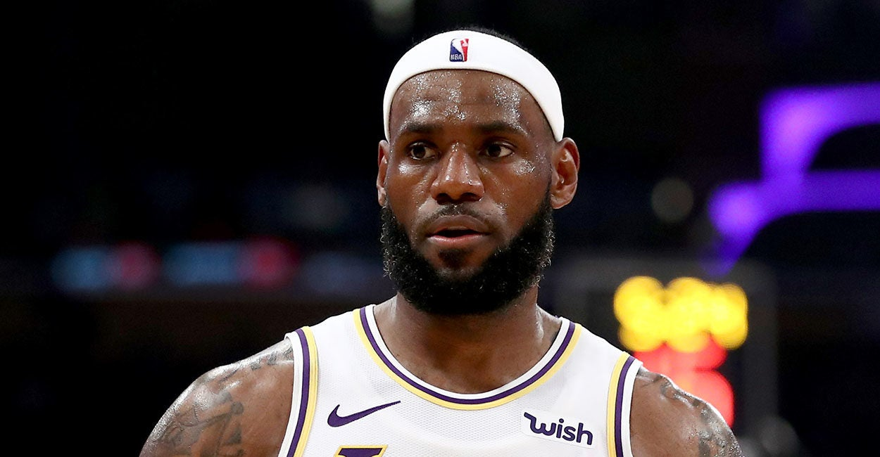 On China, LeBron James Is a Coward