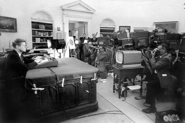 JFK-desk